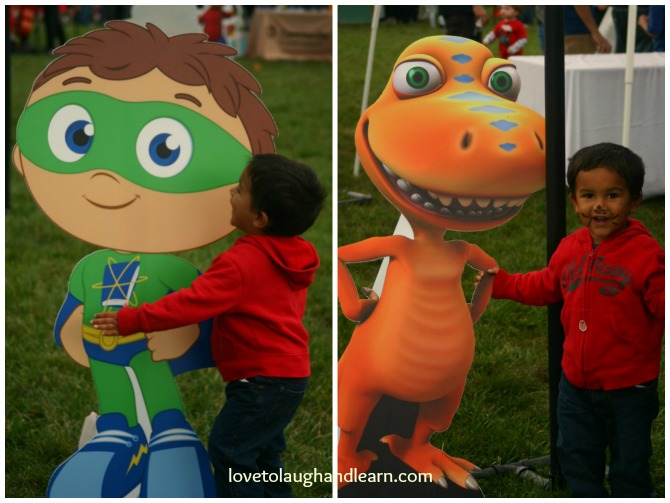 Be My Neighbor Day: Super Why! and Buddy