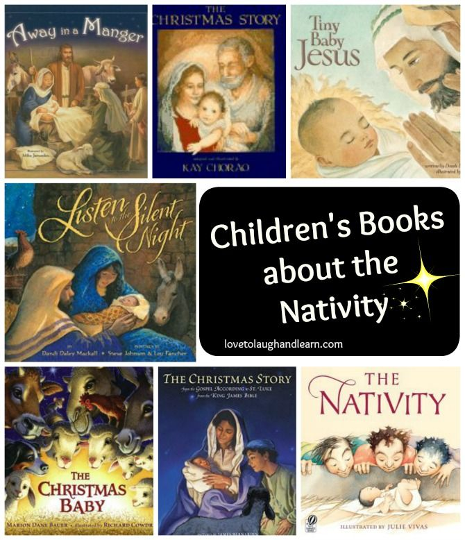 Children's Books about the Nativity