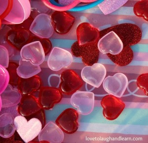 The Lame Valentine Bin: Plastic Hearts