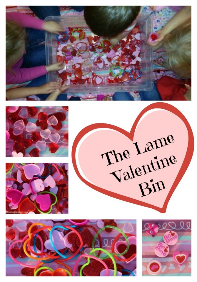 The Lame Valentine Bin