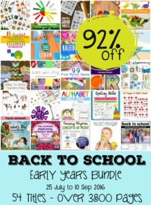 Early Years ebook Bundle